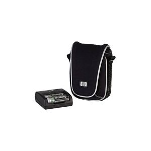Photo of HP Photosmart Easy Recharge Kit - Battery Charger 2XAA - Included Batteries: 2 X AA Type NiMH Camera and Camcorder Battery