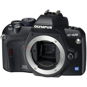 Photo of Olympus E-420 With 17.5-45MM Lens Digital Camera