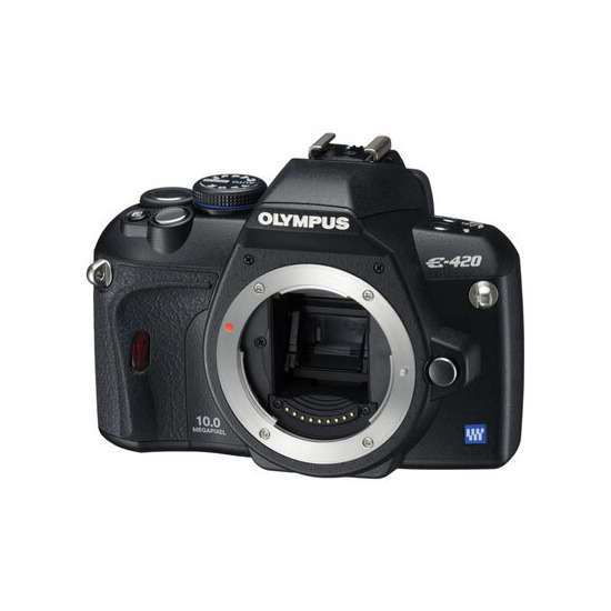 Olympus E-420 with 17.5-45mm lens
