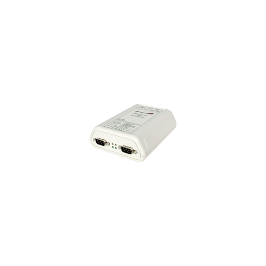 StarTech.com RS-232 Serial Ethernet IP Adapter (Device Server, Console Server) - Device server - 2 ports - EN, RS-232