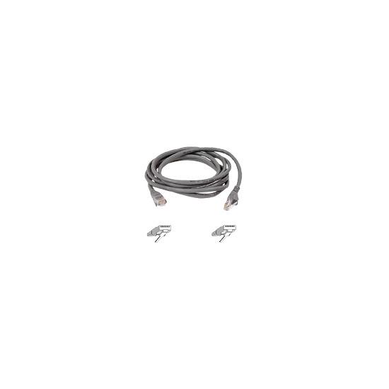 Belkin FastCAT - Patch cable - RJ-45 (M) - RJ-45 (M) - 10 m - ( CAT 5e ) - grey