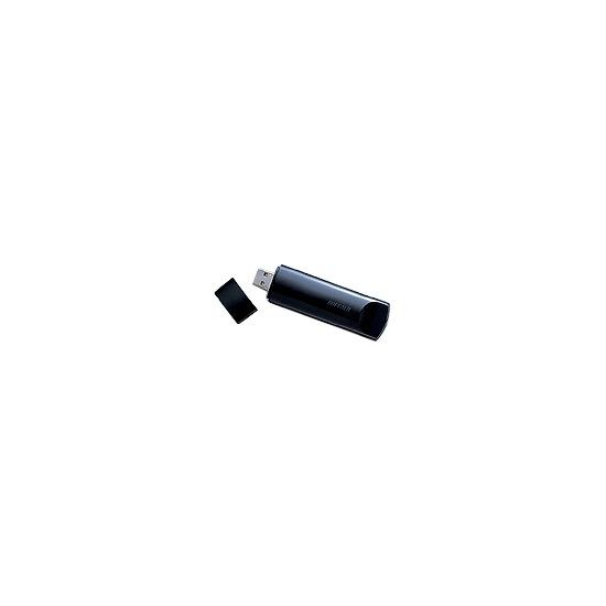 Buffalo AirStation Nfiniti Wireless-N WLI-UC-G300N - Network adapter - Hi-Speed USB - 802.11b, 802.11g, 802.11n (draft)