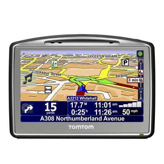 TomTom Go 720 UK and W. Europe
