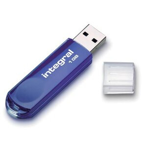 Photo of Integral Pen 2 0 1GB Ice B USB Memory Storage