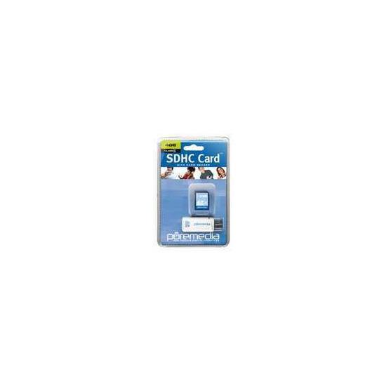 PURE MEDIA SDHC 4GB USBREAD