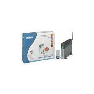 Photo of D-Link DSL-904 54G Wireless Modem Router and USB Adapter Bundle Router
