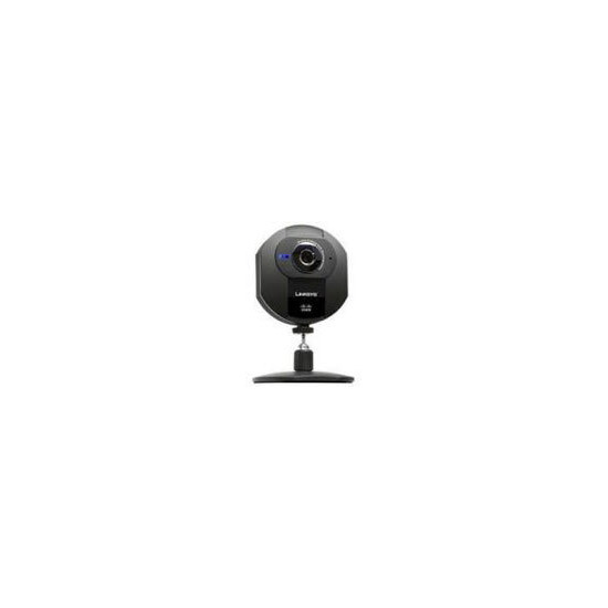Linksys Wireless-G Internet Home Monitoring Camera WVC54GCA - Network camera - colour - audio - 10/100, 802.11b, 802.11g