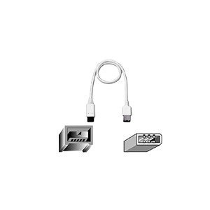 Photo of Belkin - IEEE 1394 Cable - 9 Pin FireWire 800 (m) - 6 PIN FireWire (m) - 1.8 m Adaptors and Cable