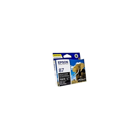 Epson T0878 - Print cartridge - 1 x pigmented matte black