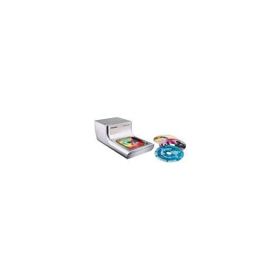 DYMO DiscPainter - CD/DVD printer - colour - ink-jet - CD (120 mm) up to 2 disks/min (colour) - USB