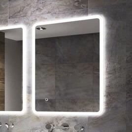 Ultra Slim Illuminated Bathroom Mirror - 800 x 600mm - Sensio Libra Reviews