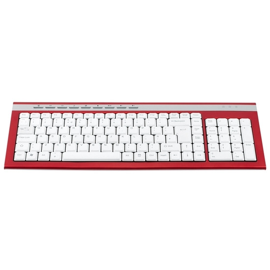 Logik LKBWR11 Keyboard - Red