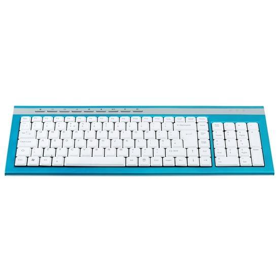 Logik LKBWP11 Keyboard - Turquoise