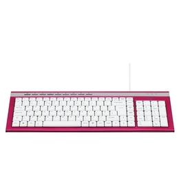 Logik LKBWC11 Keyboard - Pink Reviews