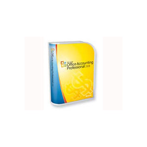 Photo of Microsoft Office Accounting Professional 2008 - Complete Package - 1 PC - CD - Win - English - United Kingdom Software