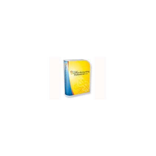 Microsoft Office Accounting Professional 2008 - Complete package - 1 PC - CD - Win - English - United Kingdom