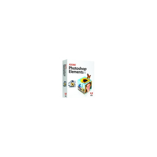 Adobe Photoshop Elements - ( v. 6 ) - complete package - 1 user - DVD - Mac - International English