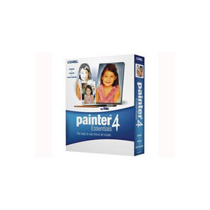 Photo of Corel Painter Essentials - ( V. 4 ) - Complete Package - 1 User - CD - Win, Mac - English Software