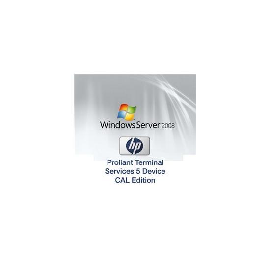 Microsoft Windows Server 2008 Terminal Services (5 Users)
