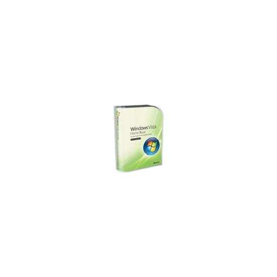 Microsoft Windows Vista Home Basic w/SP1 - Complete package - 1 PC - English International