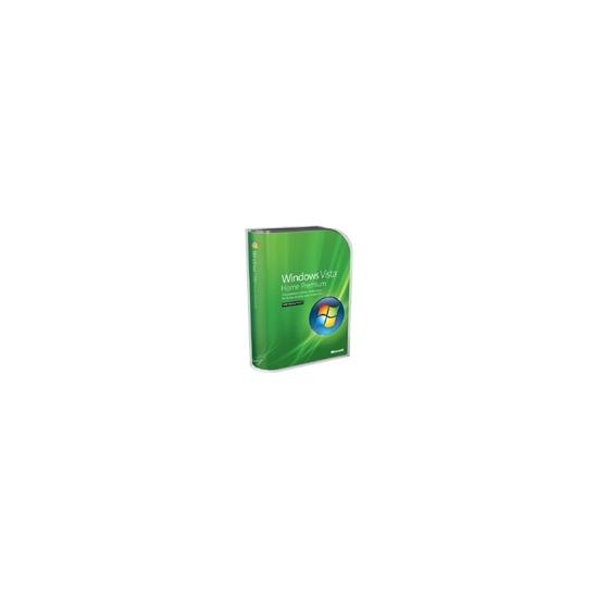 Microsoft Windows Vista Home Premium w/SP1 - Complete package - 1 PC - DVD - English International