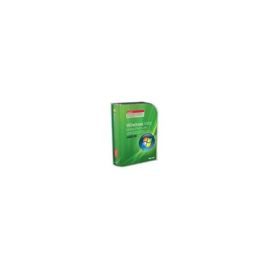 Microsoft Windows Vista Home Premium w/SP1 - Upgrade package - 1 PC - DVD - English International