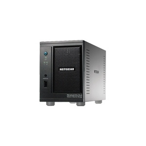 Photo of NETGEAR ReadyNAS Duo RND2150 - NAS - 500 GB - Serial ATA-150 - HD 500 GB X 1 - Gigabit Ethernet Computer Peripheral
