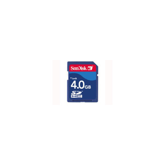 4GB SECURE DIGITAL CARD