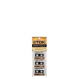 TDK D MC60 - Microcassette - 3 x 60min Reviews