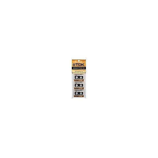 TDK D MC60 - Microcassette - 3 x 60min