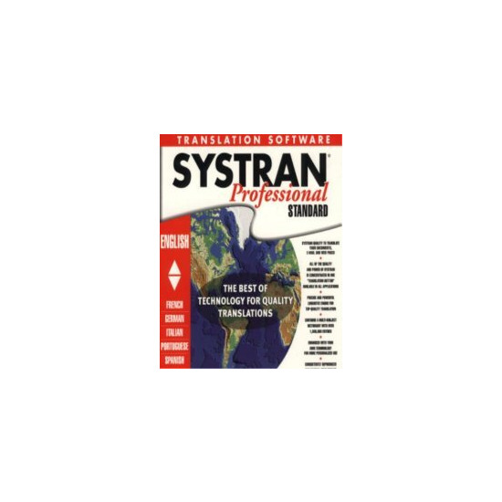 Systran Translator Professional PC