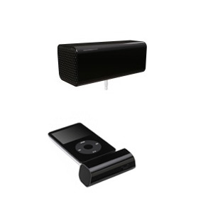 Photo of Go Rock Mini Portable Stereo Speakers iPod Dock