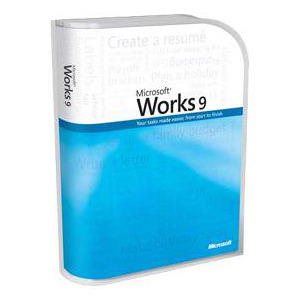 Photo of Microsoft Works 9 OEM PC Software