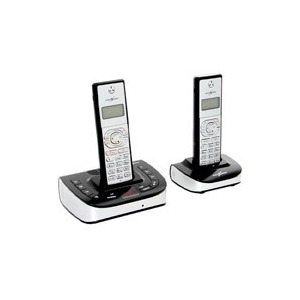 Photo of Cordless TWIN DECT Phones With Answer Machine Landline Phone