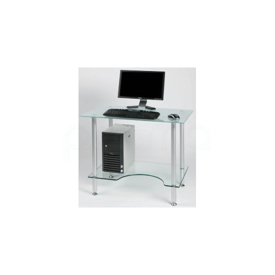 Jual PC005F - Laptop or Small Computer Desk Frosted Glass