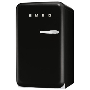 Photo of Smeg FAB10LNE 50's Retro Style (Black + Left Hinge) Fridge