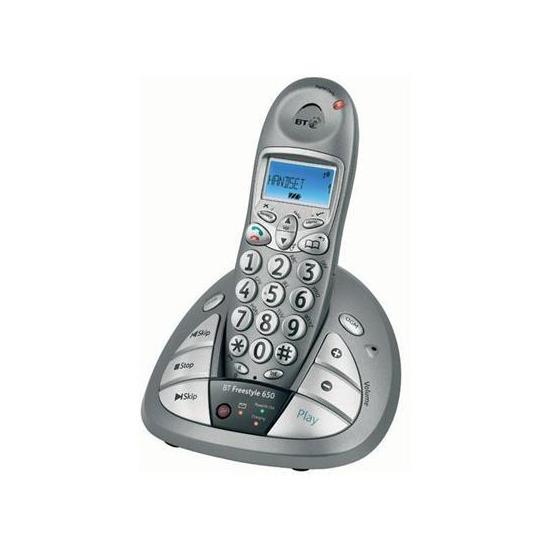 BT Freestyle 650 Big Button Ansaphone