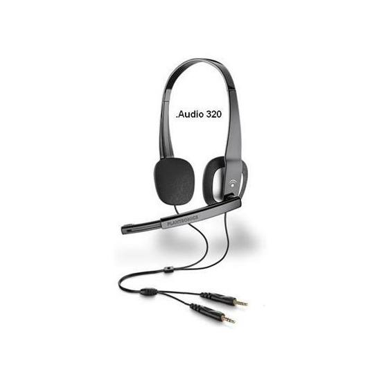Plantronics .Audio 320 Stereo (3.5mm) Headset