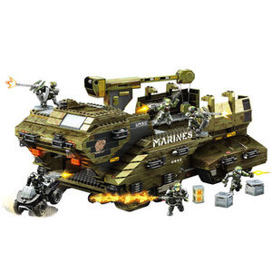 Photo of Mega Bloks Halo Wars UNSC Elephant Toy