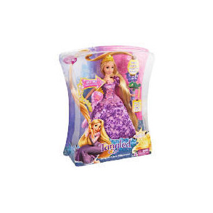 Photo of Disney Tangled Sing & Glow Rapunzel Doll Toy