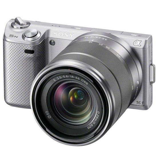 Sony Alpha NEX-5NK with 18-55mm lens