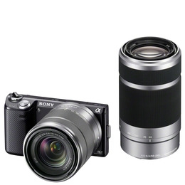 Sony Alpha NEX-5NY with 18-55mm and 55-210mm lenses Reviews