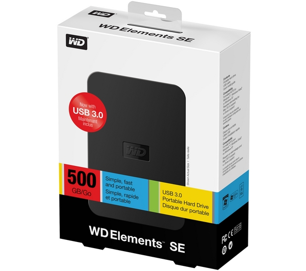 WD Elements SE Portable 500GB Reviews - Compare Prices and ...
