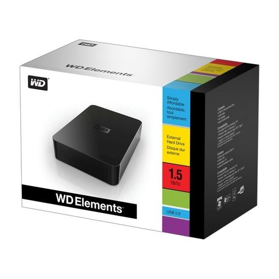 WD Elements WDBAAU0015HBK