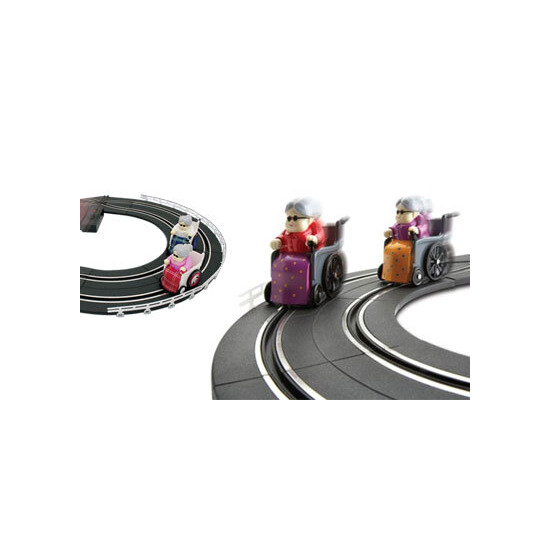 Track Racing Grannies