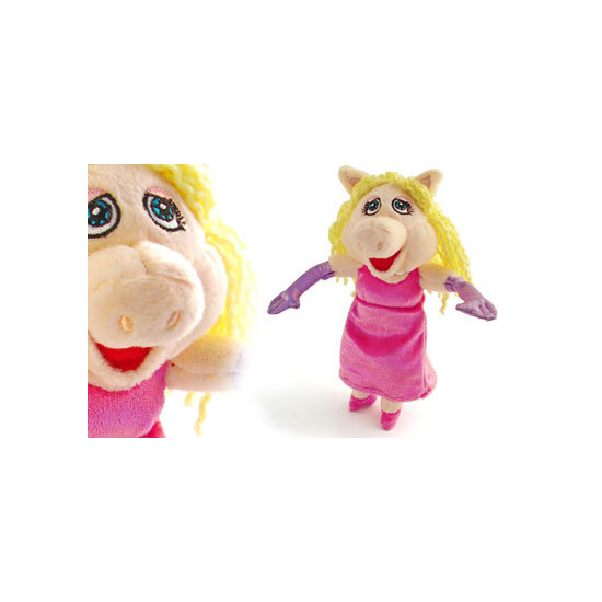 "The Muppets Little Miss Piggy 8"" Plush"