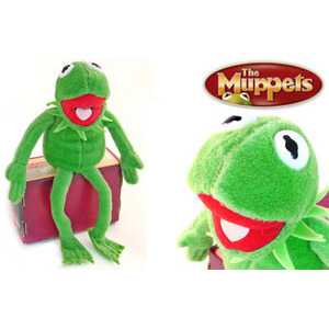 "Photo of The Muppets Kermit 8"" Plush Gadget"