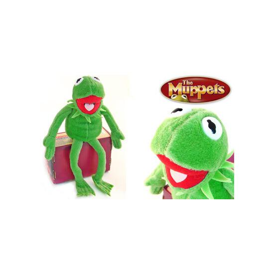 """The Muppets Kermit 8"""" Plush"""
