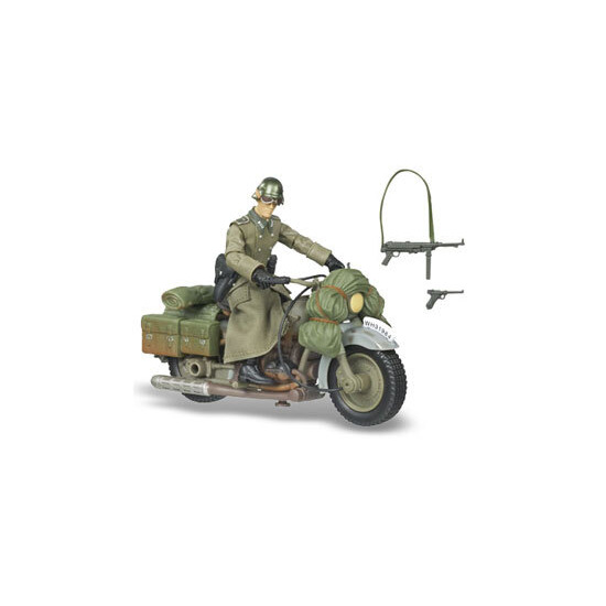 Raiders of the Lost Ark - German Soldier with Motorcycle