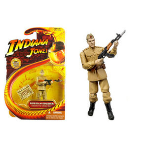 Photo of Kingdom Of The Crystal Skull - Russian Soldier Toy